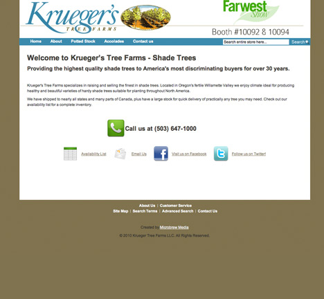 yahoo sitebuilder templates - our work microbrew media press brewing web graphic